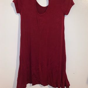 💕Rue 21 red dress with back cut out small